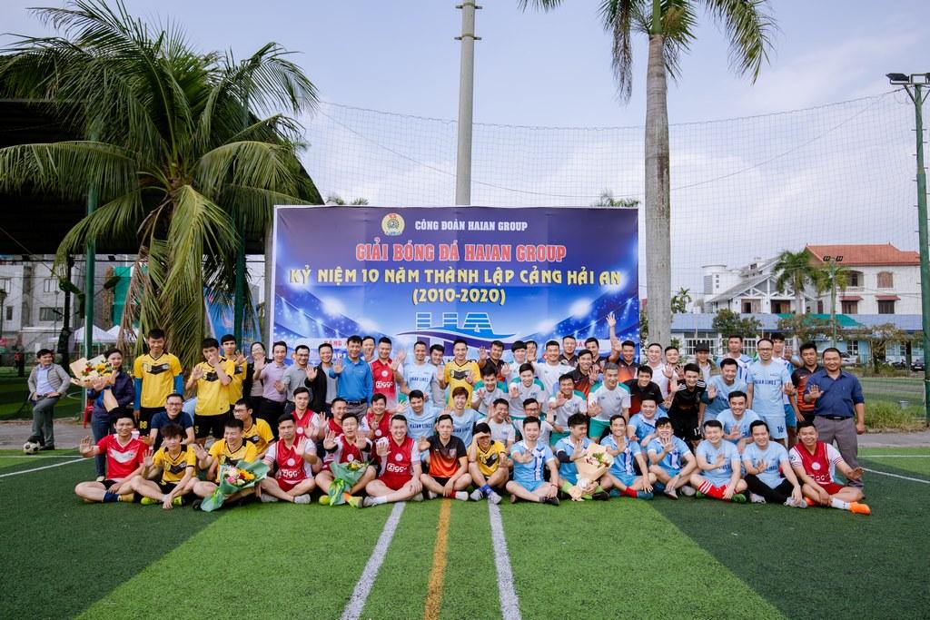 Giải bóng đá chào mừng kỷ niệm 10 năm thành lập Cảng Hải An