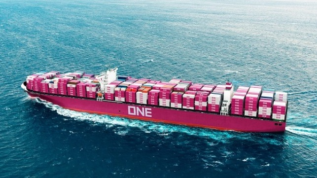 Ocean Network Express has recorded its first profitable quarter