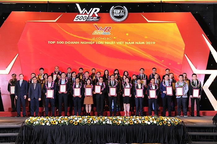 Công ty CP Vận tải và Xếp dỡ Hải An đứng vững trong top 500 Doanh nghiệp lớn nhất Việt Nam năm 2020