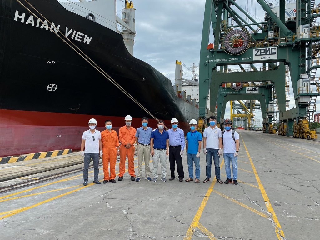 Công ty CP vận tải và xếp dỡ Hải An vừa mua thêm tàu container